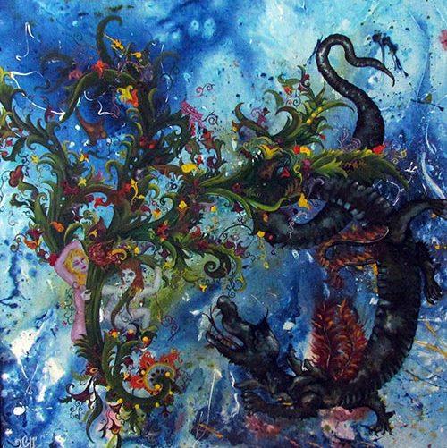 Creation of man(Afarinesh)